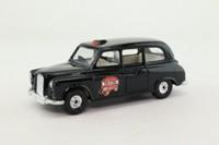 Corgi C425/1; Austin FX4 Taxi (1:36); Black, Computer Cab 286-0-286