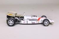 Panini; BRM P153 Formula 1; 1970 Belgian GP 1st; Pedro Roriguez; RN1
