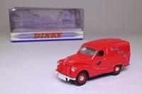 Dinky Toys DY-15; 1953 Austin A40 van; Brooke Bond Tea, Red