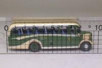 Corgi OOC OM42602; Bedford OB Coach; Fred Bibby & Son, Ingleton; Blackpool Coach Rally