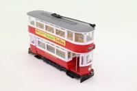 Corgi Classics 36701; Double Deck Tram, Closed Top, Closed Platform; London Transport; Highbury via Westminster