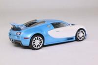 IXO; 2005 Bugatti Veyron 16.4; Metallic Blue & Silver
