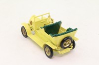 Models of Yesteryear Y-16/1; 1904 Spyker Tourer; Yellow, Green Seats