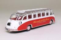 Atlas Editions 4642 105; Classic Coaches Collection; 1951 Kassbohrer Setra S8 Coach
