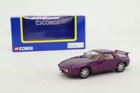 Corgi Classics TY97303; Porsche 928 S4 Coupe; Metallic Purple