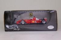 Hot Wheels 50214; Ferrari F2001 Formula 1; 2001 Monaco GP 2nd; Rubens Barrichello; RN2