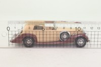Solido 4051; 1939 Delage D8-120; Sedanca, Beige/Brown