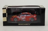 Minichamps 400 014103; Opel V8 Coupe; 2001 DTM; Team Holzer; Joachim Winkelhock; RN4