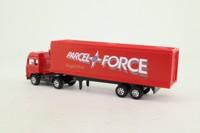 Corgi Small Scale 91422; Seddon Atkinson; Articulated Box Trailer, Parcel Force