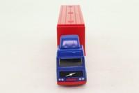 Corgi Small Scale 91310; Volvo Globetrotter Artic; Box Trailer, Hula Hoops