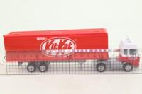 Corgi Small Scale 91430; Seddon Atkinson; Articulated Box Trailer, Kit Kat