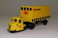 Corgi Classics 97910; Scammell Scarab; Artic Box Van, Rail Freight