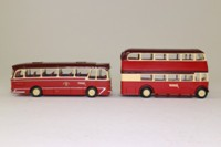 EFE 99905; Barton Transport Set; Harrington Grenadier Coach & AEC RTL Bus in Barton Livery