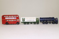 EFE 19901; Tate & Lyle Gift Set; AEC RT Bus; AEC Mammoth Major Tanker & Box Van