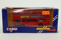 Corgi Classics C675/4; MCW Metrobus; London Transport; Rt 25 High Holborn, Stratford, Aldgate, Bank, St Pauls, Oxford Circus, Bond St