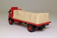 Corgi Classics 09601; ERF V; 4 Wheel Flatbed; BRS, Sheeted Load
