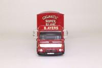 Corgi Classics 97893; AEC Ergomatic Cab; 4 Wheel Box Van & Trailer; J Ayers Amusements
