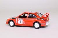 DeAgostini 07; Mitsubishi Lancer; EVO VI; 1999 New Zealand Rally 1st; Makinen & Mannisenmaki; RN1