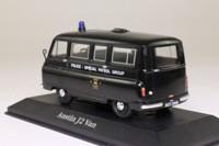 Atlas Editions 4 650 102; Austin J2 Van; Metropolitan Police Special Patrol Group; Black
