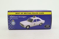 Atlas Editions 4 650 112; Hillman Avenger; West Yorkshire Police