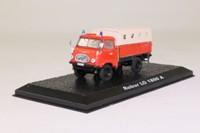Atlas Editions 7147 012; Robur  LO 1800 A Fire Truck; Spain