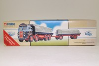 Corgi Classics 97366; Atkinson; 8 Wheel Rigid Flatbed & Trailer, Sheeted Load; Tennant of Porth