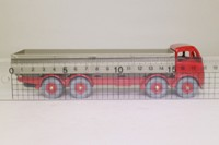Dinky Toys 901; Foden Diesel 8-wheel Truck Dropside; Red Cab, Grey Back, Red Hubs
