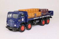 Corgi Classics 97955; Foden FG; 8 Wheel Flatbed With Chains; Barrels & Crates Load, Guinness; G&C Moore, Bridgeton