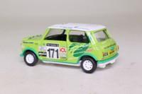 Corgi 04433; BL/Rover Mini; 1998 RAC Rally DNF; Plant & Plant; RN171