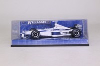 Minichamps 430 111199; Williams FW21 Formula 1; 2000 BMW Launch Car; RN9