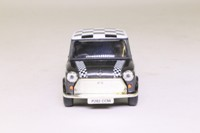 Corgi Classics 04412; BL/Rover Mini; Charcoal; Black/White Chequer Roof
