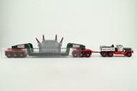 Corgi US55103; Diamond T Ballast Tractor; 24 Wheel Girder Trailer with Transformer Load, Gerosa