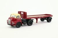 Corgi 20301; Bedford S; Artic Platform Trailer, Container Load, British Rail