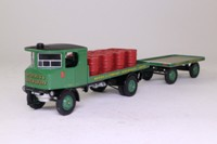 Corgi Classics 80008; Sentinel Steam Wagon; Flatbed & Trailer, Morris's Shrewsbury, Oil Drum Load
