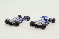 ONYX S002; Williams FW17 Formula 1; 1995 Portugal GP 1st & 3rd; Coulthard & Hill; RN 5&6