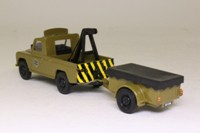 Corgi Classics 07502; Land-Rover Series 2 109; With Trailer: Tarmac