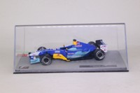 Panini #27; Sauber C23; 2004 Belgian GP 8th; Felipe Massa; RN12