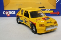 Corgi C399/5; Peugeot 205 Turbo 16; Monte Carlo Rally, Ari Vatanen