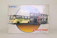 Corgi Classics 97051; Invictaway 2 Bus Set; Metrobus 992 London; Plaxton Coach 984 London