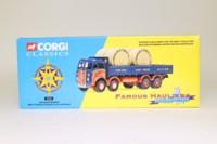 Corgi Classics 10102; ERF V; 8 Wheel Dropside with Cable Drums; Gwynne Bowen