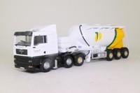Corgi Classics CC13407; MAN TGA XXL; Feldbinder tanker: Tarmac Plc