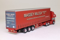 Oxford Diecast VOL03CS; Volvo FH; Artic Curtainside, Massey Wilcox
