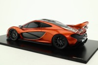True Scale TSM 131803R; 2013 McLaren P1; Volcano Orange
