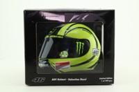 Minichamps 328 100066; Motor Racing Helmet; 2009 Valencia Test Moto GP; Valentino Rossi
