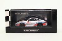 Minichamps 400 086707; Porsche 911 GT3 Cup; 2008 IMSA GT3 Challenge Sebring; Mark Weber; RN07