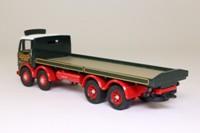 Corgi Classics 24402; Leyland Mouthorgan Cab; 8 Wheel Flatbed, Eddie Stobart