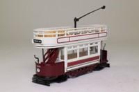 Corgi Classics C991/1; Double Deck Tram Open Top, Open Platform; London County Council: Kashgar Rd, Beresford Sq, Plumstead, Abbey Wood