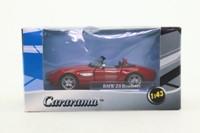 Cararama 00432; BMW Z8 Convertible; Open Top, Deep Red