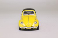 Cararama 25000; Volkswagen Beetle Convertible; Soft Top, Yellow
