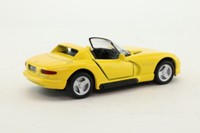 Maisto; 1992 Dodge Viper RT/10; Open Top, Yellow